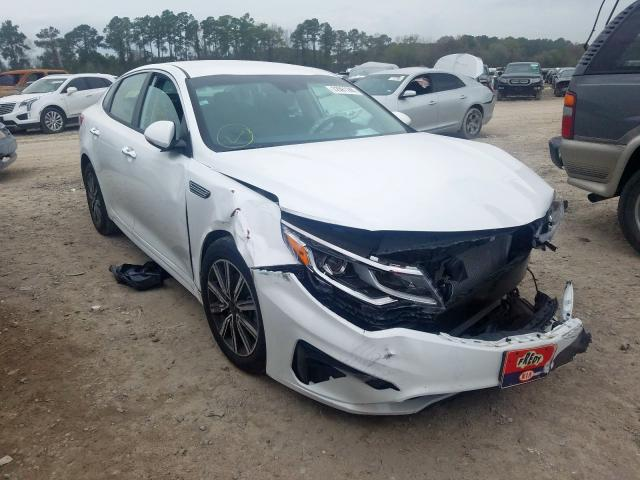 Salvage cars for sale from Copart Houston, TX: 2019 KIA Optima LX