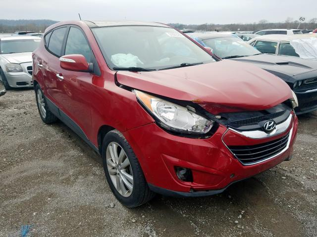 Hyundai Tucson GLS salvage cars for sale: 2010 Hyundai Tucson GLS