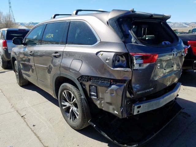 2018 Toyota HIGHLANDER | Vin: 5TDBZRFH2JS827657
