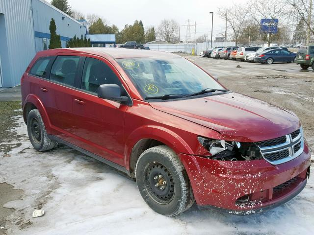 Salvage 2011 Dodge JOURNEY EX for sale