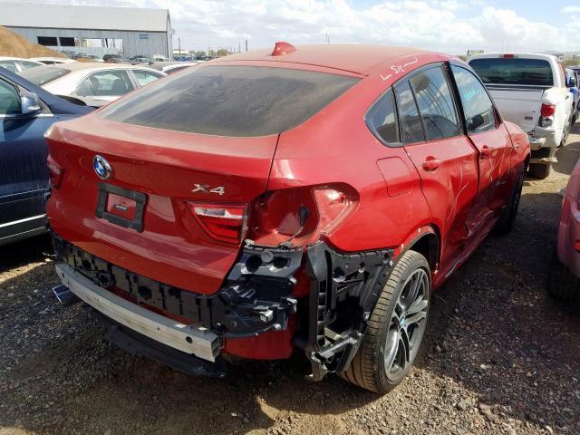 2016 BMW X4   Vin: 5UXXW3C55G0R23153