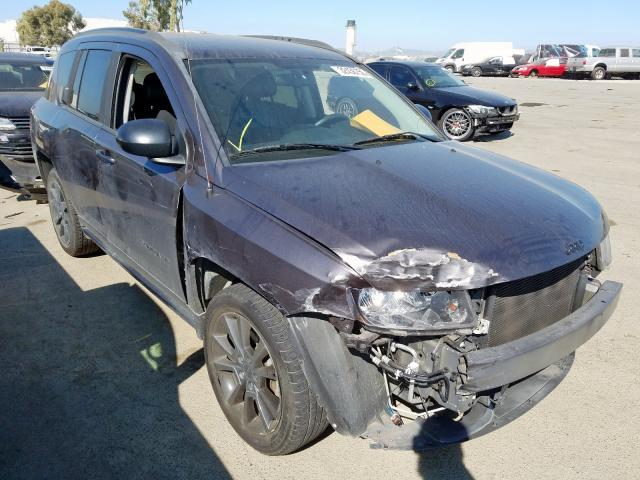 Jeep Compass SP salvage cars for sale: 2014 Jeep Compass SP