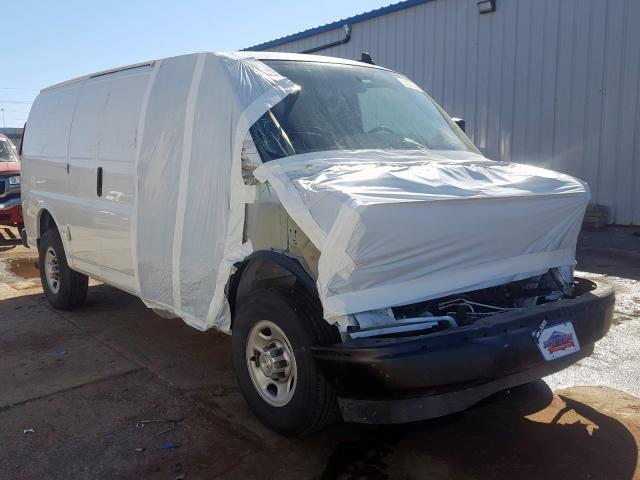 Chevrolet Express G2 salvage cars for sale: 2019 Chevrolet Express G2