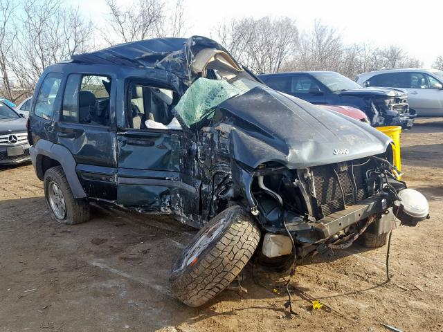 Salvage cars for sale from Copart Baltimore, MD: 2005 Jeep Liberty SP