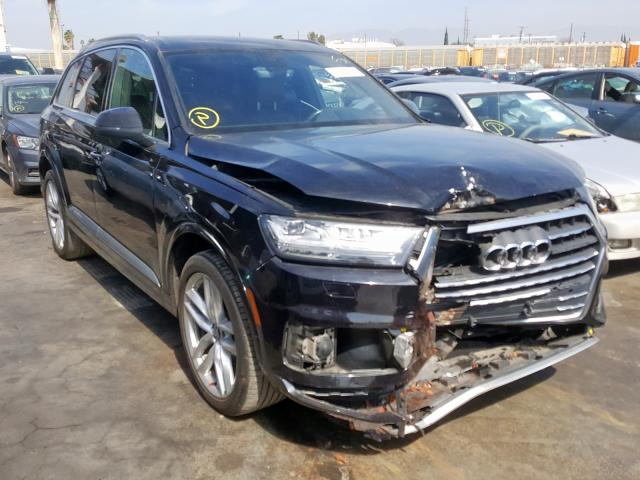 Audi Q7 Prestige salvage cars for sale: 2017 Audi Q7 Prestige