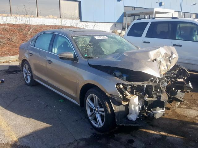 Salvage cars for sale from Copart Woodhaven, MI: 2015 Volkswagen Passat SE