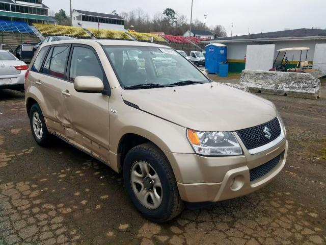 Suzuki Grand Vitara salvage cars for sale: 2008 Suzuki Grand Vitara