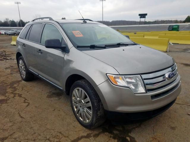 Ford Edge SE salvage cars for sale: 2008 Ford Edge SE