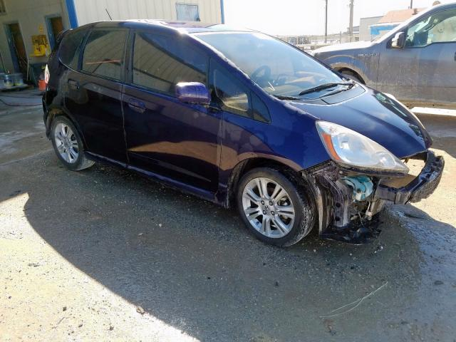 Salvage cars for sale from Copart San Antonio, TX: 2010 Honda FIT Sport
