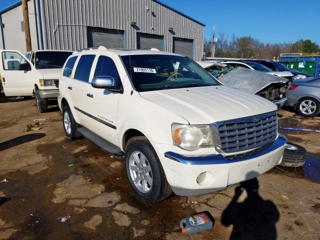 Salvage cars for sale from Copart Memphis, TN: 2007 Chrysler Aspen Limited