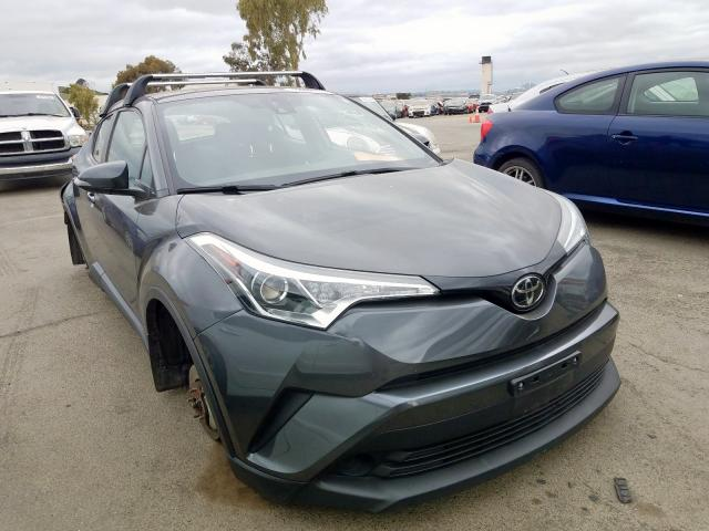 Toyota C-HR XLE salvage cars for sale: 2018 Toyota C-HR XLE
