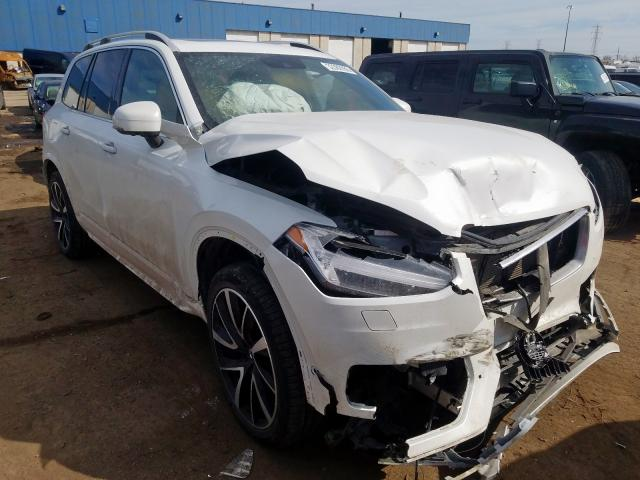 Volvo XC90 T6 salvage cars for sale: 2018 Volvo XC90 T6