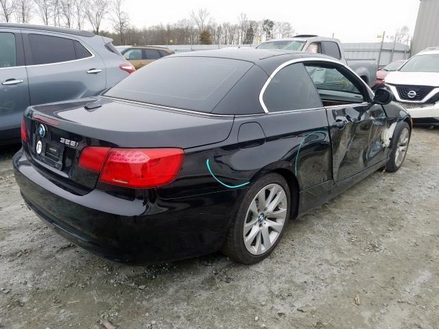 2011 BMW 328 I - Right Rear View