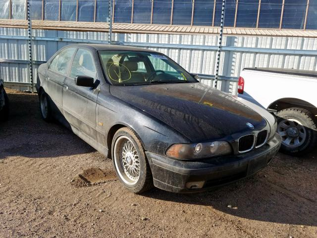 Salvage cars for sale from Copart Colorado Springs, CO: 2000 BMW 528 I Automatic