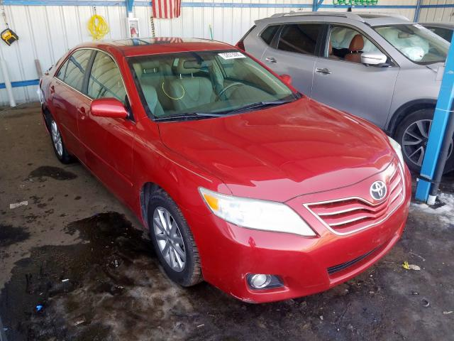 Toyota salvage cars for sale: 2010 Toyota Camry SE