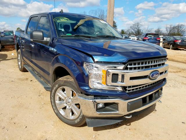 Vehiculos salvage en venta de Copart China Grove, NC: 2019 Ford F150 Super