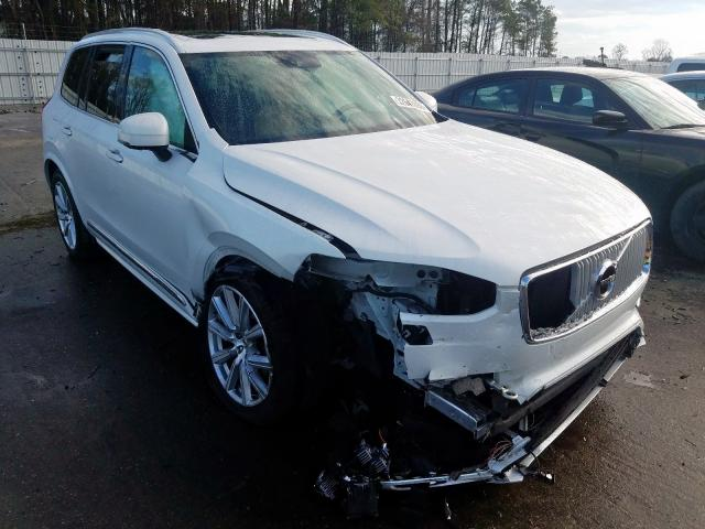 Volvo salvage cars for sale: 2017 Volvo XC90 T6