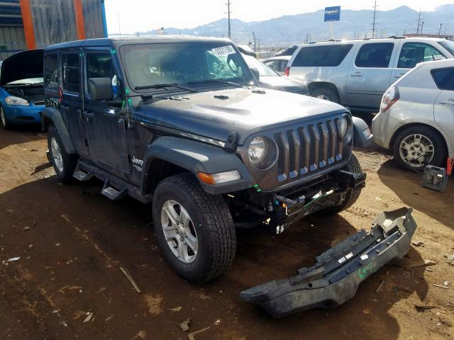 Jeep Wrangler U salvage cars for sale: 2018 Jeep Wrangler U