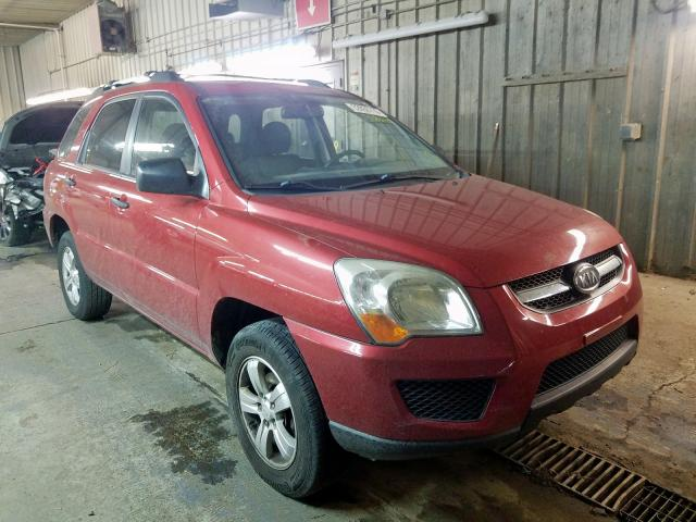 Salvage cars for sale from Copart Fort Wayne, IN: 2009 KIA Sportage L