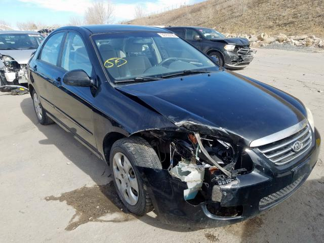 KIA salvage cars for sale: 2007 KIA Spectra EX