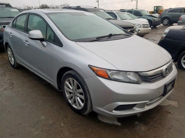 2012 Honda Civic EX en venta en Lebanon, TN