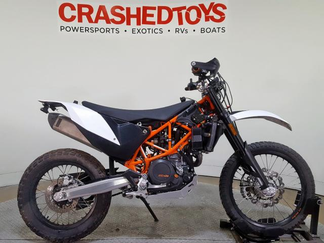 KTM salvage cars for sale: 2017 KTM 690 Enduro