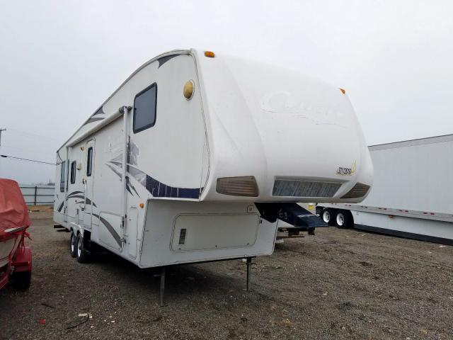 Keystone 5th Wheel salvage cars for sale: 2007 Keystone 5th Wheel