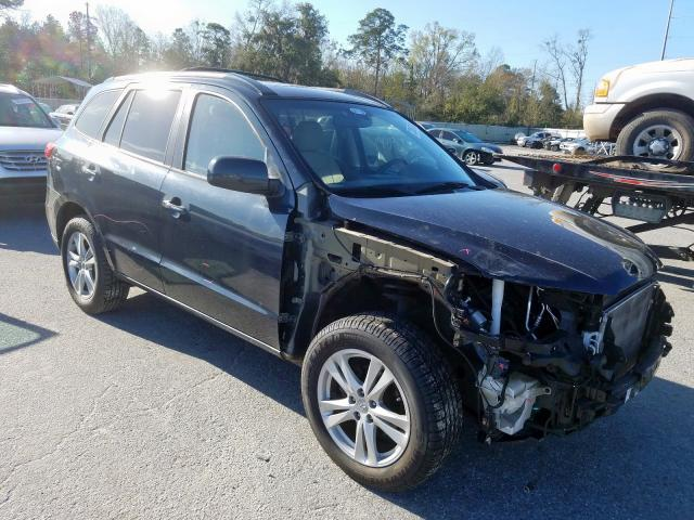 Hyundai Santa FE L salvage cars for sale: 2010 Hyundai Santa FE L