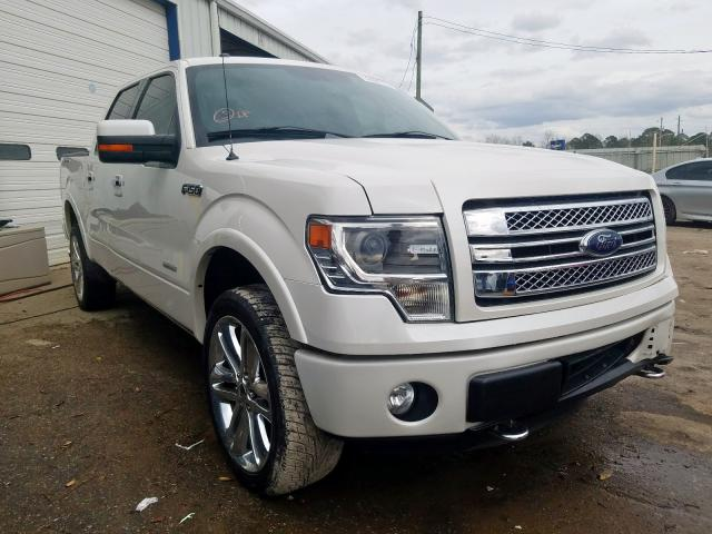 Salvage cars for sale at Montgomery, AL auction: 2014 Ford F150 Super