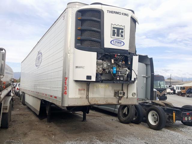Wabash salvage cars for sale: 2018 Wabash Reefer