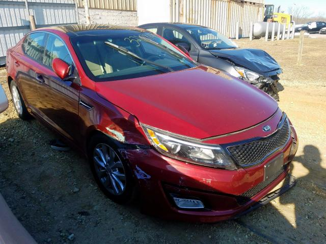 2015 KIA Optima EX en venta en Glassboro, NJ