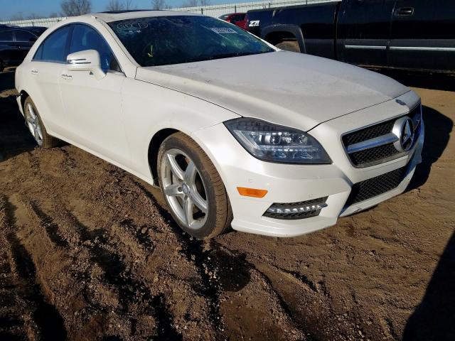 Salvage cars for sale from Copart Pekin, IL: 2014 Mercedes-Benz CLS 550 4M