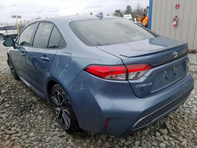 2020 TOYOTA COROLLA SE - Right Front View