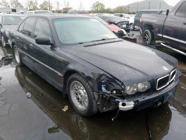 Salvage cars for sale from Copart Colton, CA: 1999 BMW 740 I Automatic
