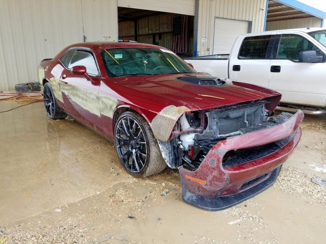 Salvage cars for sale from Copart San Antonio, TX: 2017 Dodge Challenger