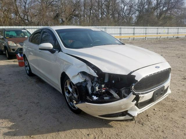 2013 FORD FUSION S 3FA6P0G77DR265258