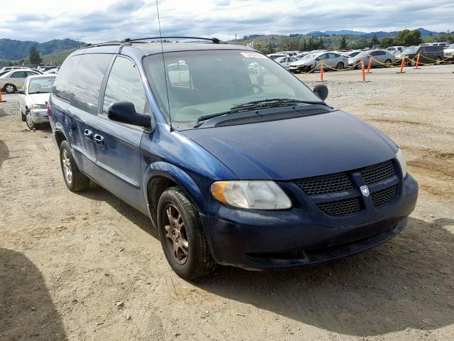 2002 Dodge Grand Caravan for sale in San Martin, CA