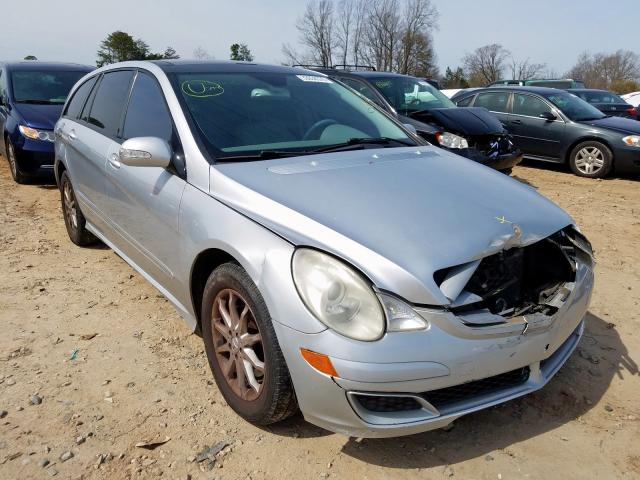 Mercedes-Benz R 350 salvage cars for sale: 2006 Mercedes-Benz R 350