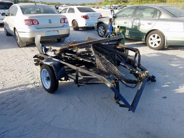 Salvage cars for sale from Copart Fort Pierce, FL: 2019 Utility Trailer