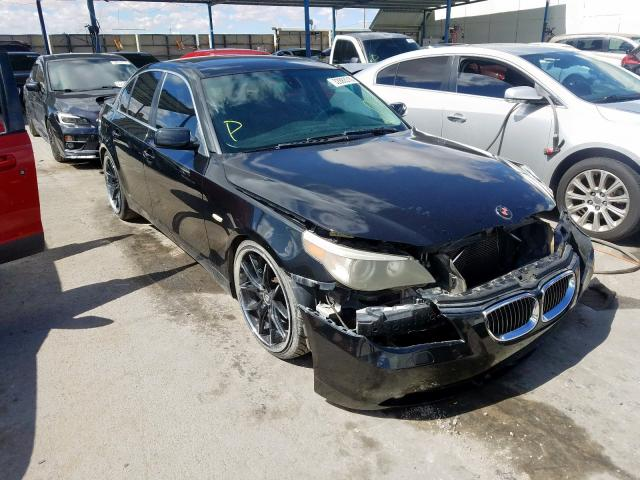 Salvage cars for sale from Copart Anthony, TX: 2007 BMW 530 I