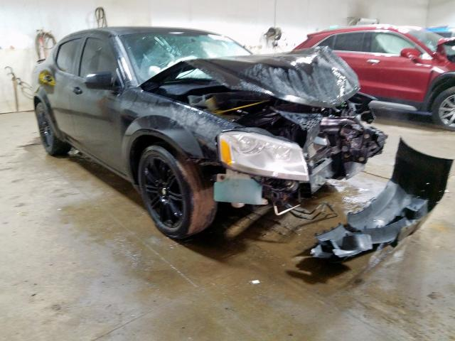Salvage 2012 Dodge AVENGER SX for sale