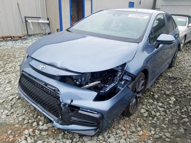 2020 TOYOTA COROLLA SE - Left Front View