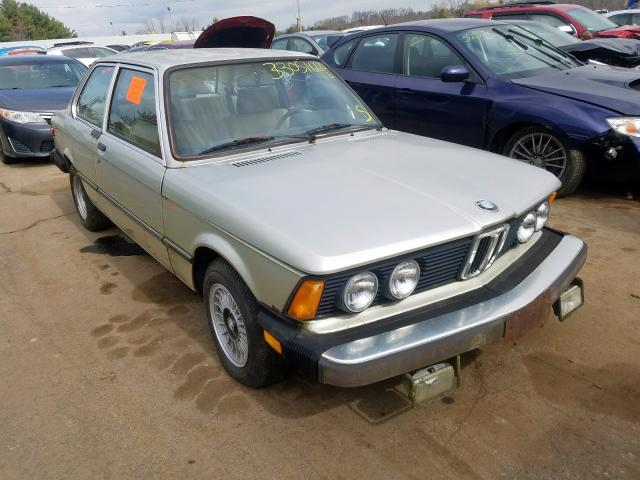 BMW 3 Series salvage cars for sale: 1979 BMW 3 Series
