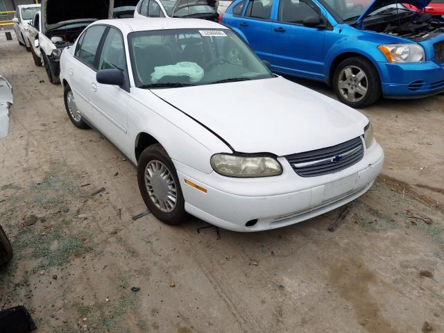 Chevrolet Malibu salvage cars for sale: 2002 Chevrolet Malibu