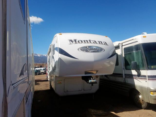 Salvage 2010 Montana MOUNTAINEE for sale