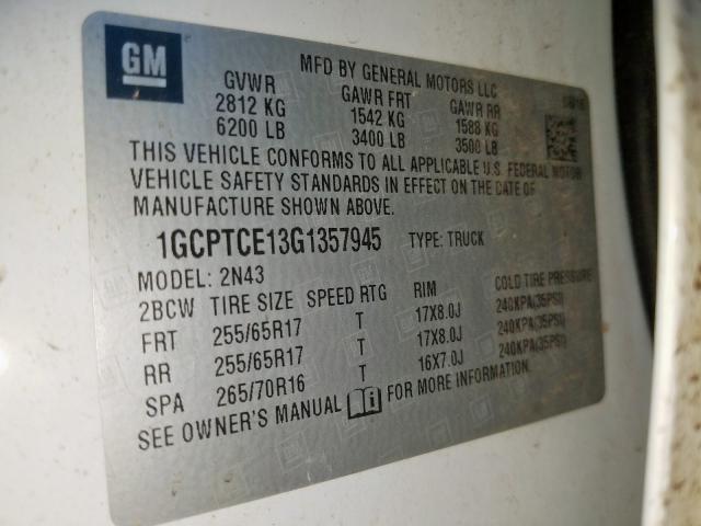 1GCPTCE13G1357945