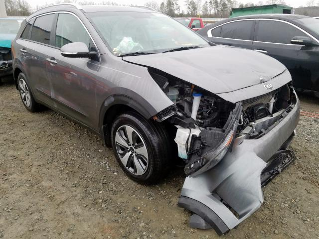 KIA Niro EX salvage cars for sale: 2017 KIA Niro EX