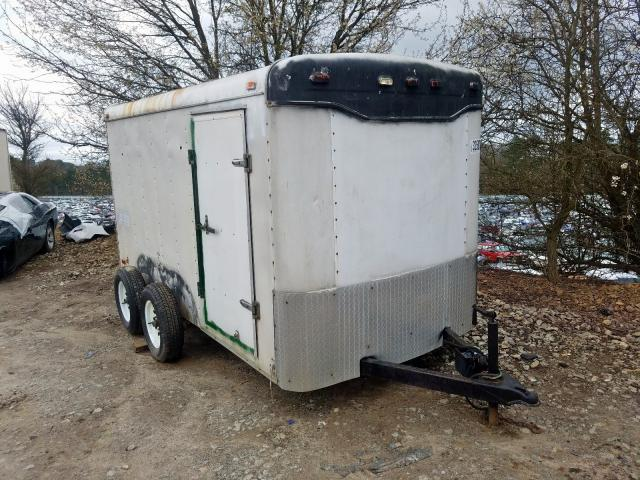 Cargo salvage cars for sale: 2001 Cargo Trailer