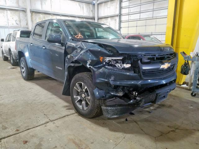 Salvage cars for sale from Copart Woodburn, OR: 2019 Chevrolet Colorado Z