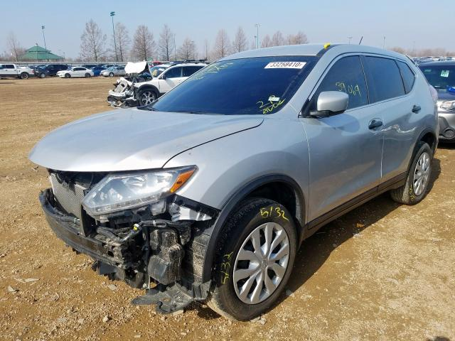 2016 NISSAN ROGUE S - Left Front View